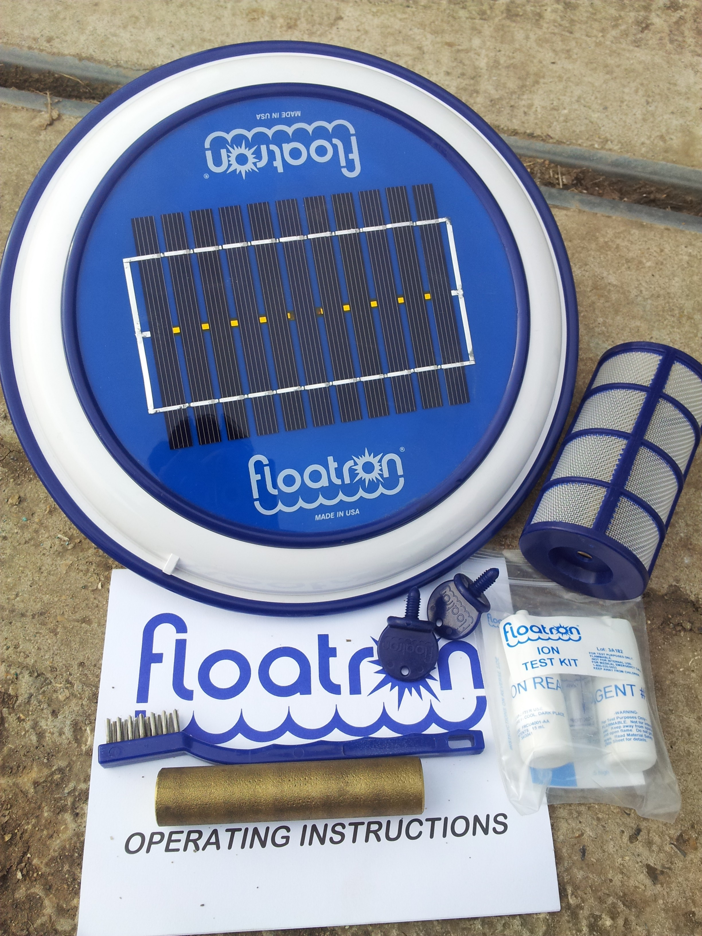 Get your floatron and your pool ready for a busy summer