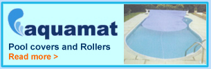 Buy Aquamat Pool Covers & Rollers