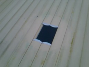 floatron cut in slatted cover 1